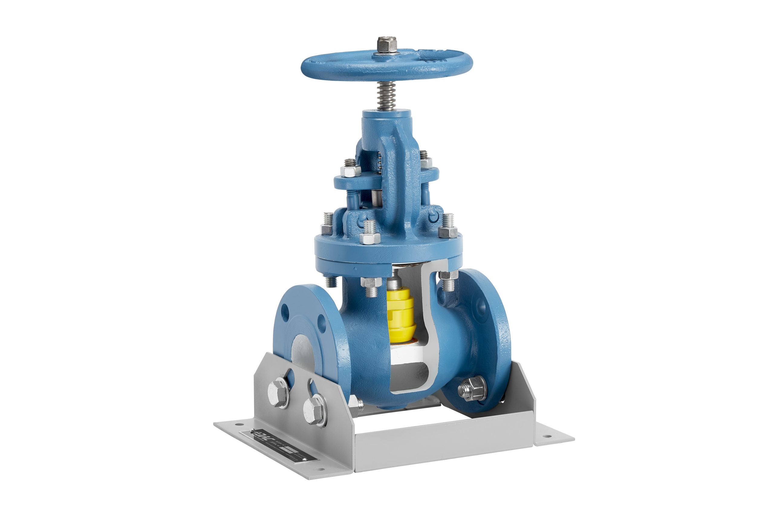globe valve cutaway