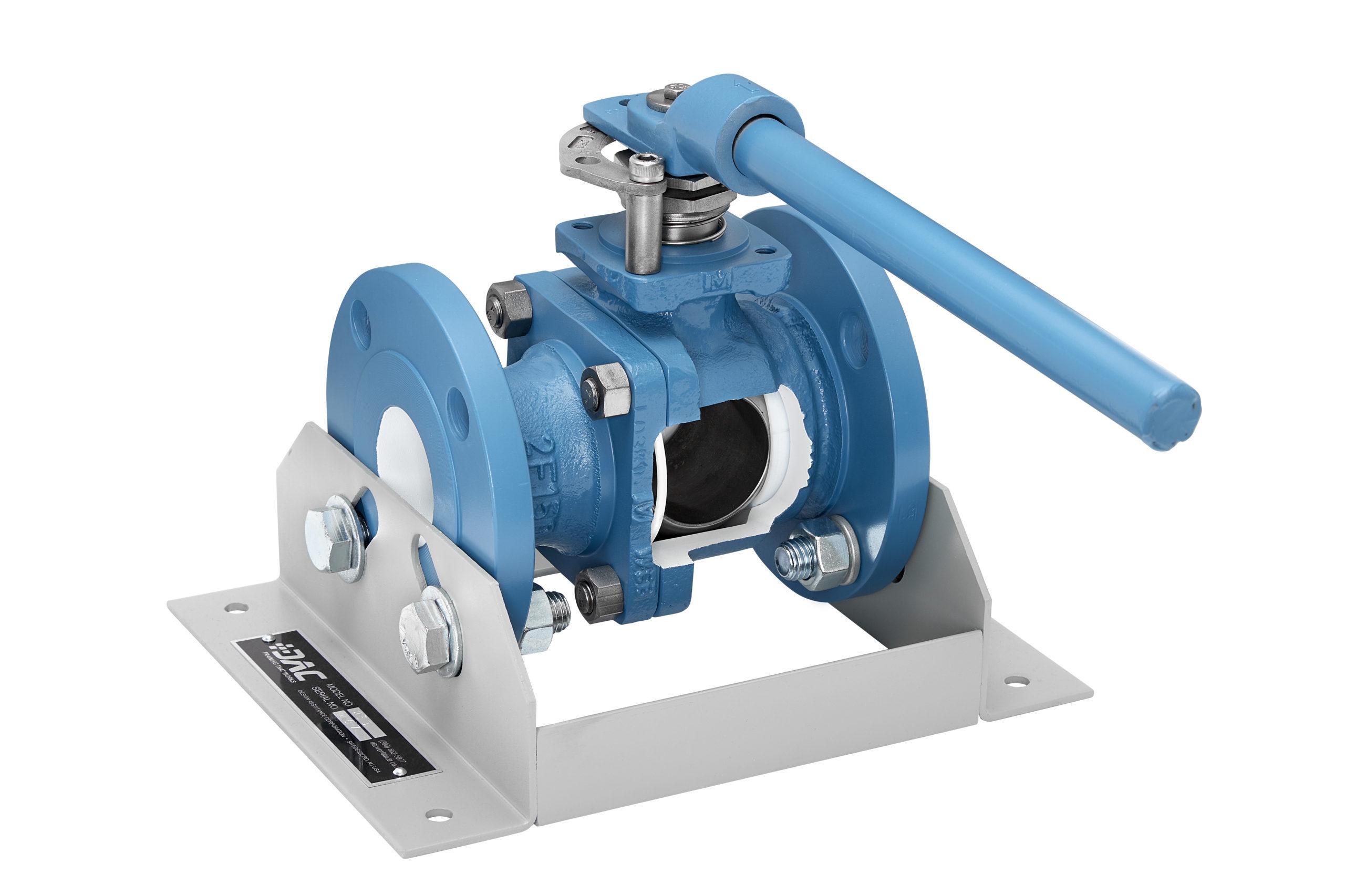 ball valve cutaway