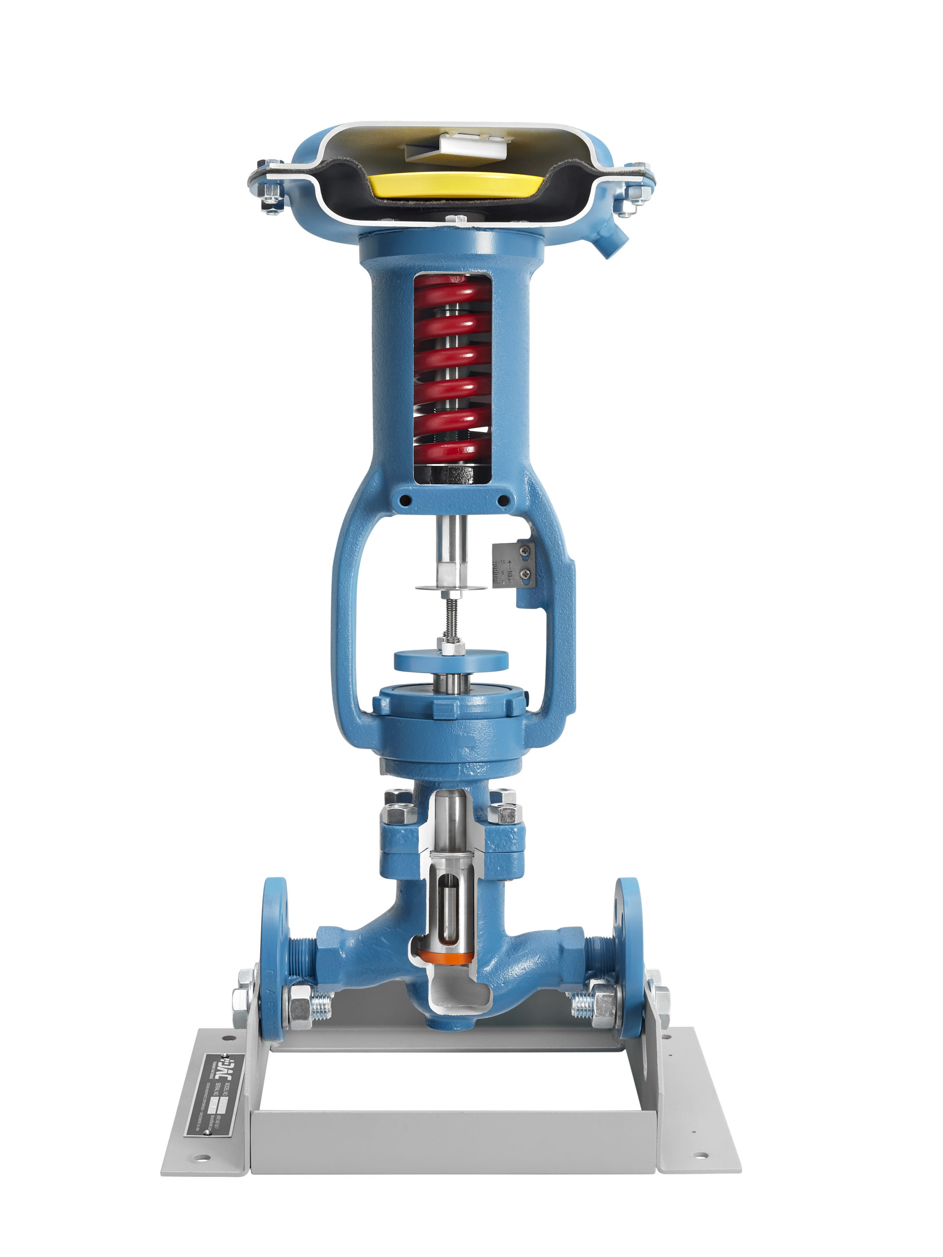 diaphragm valve cutaway