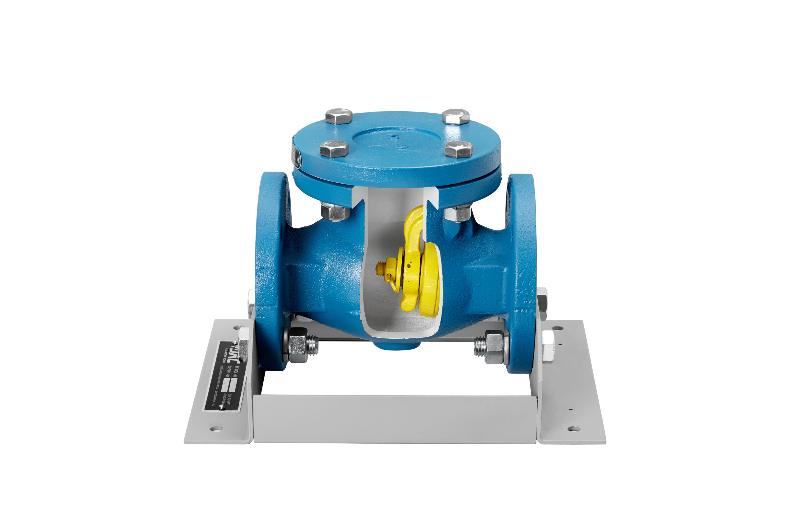 swing check valve cutaway
