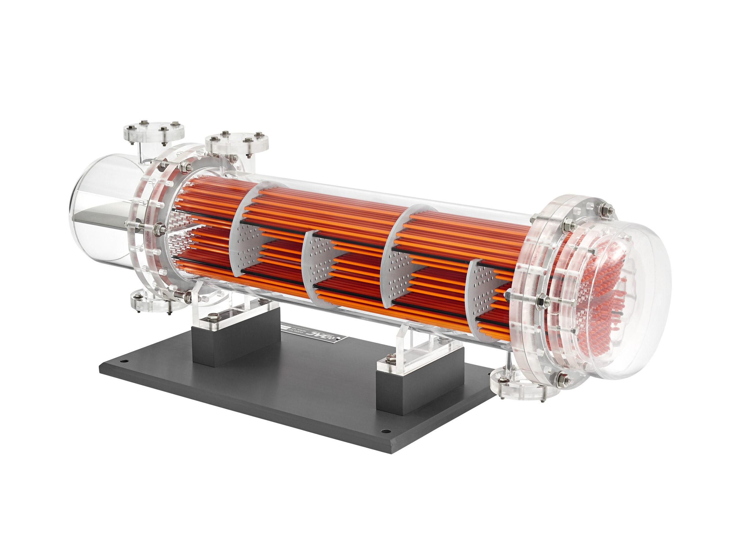 multi-pass floating head heat exchanger
