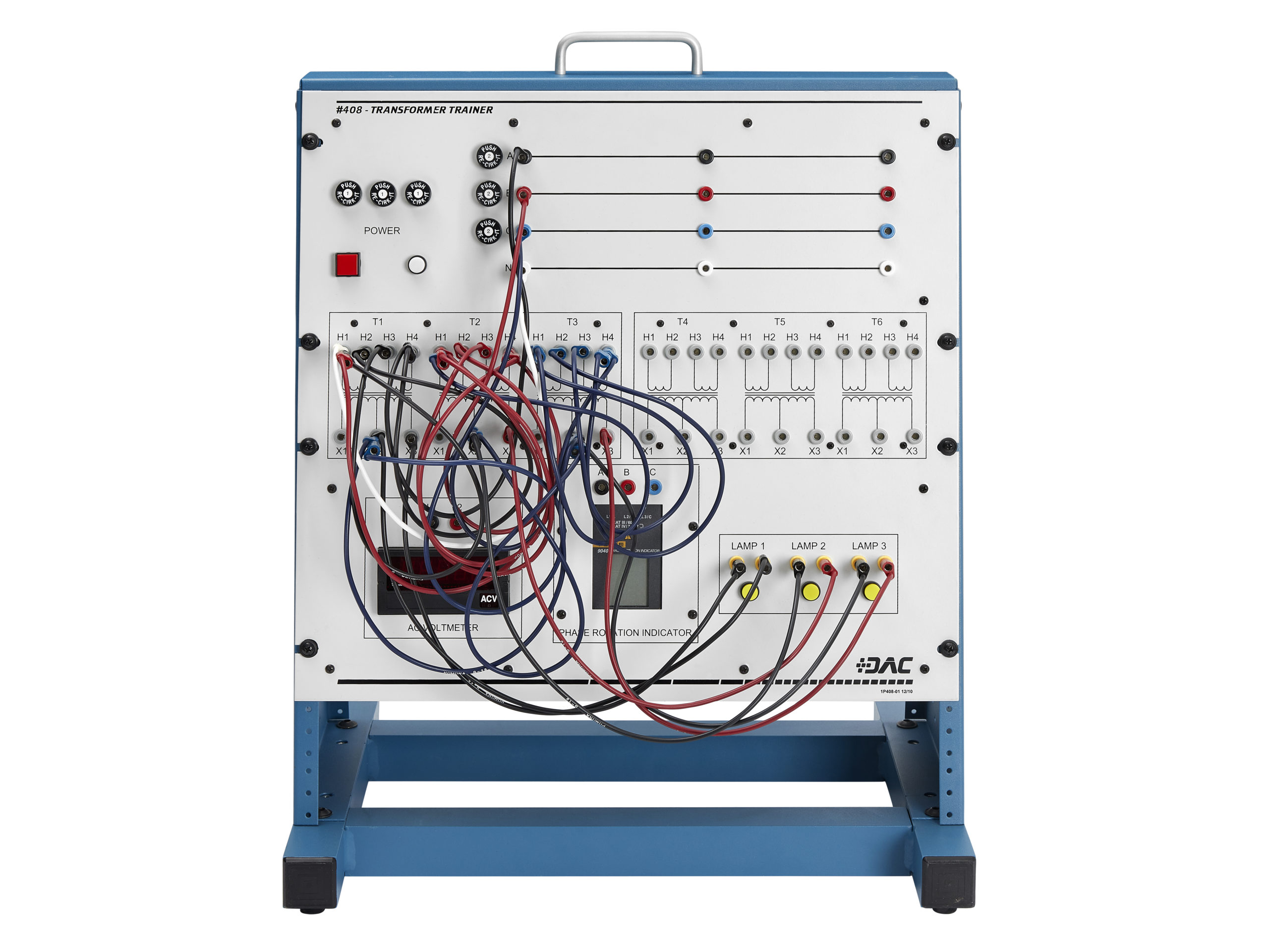 transformer wiring training system