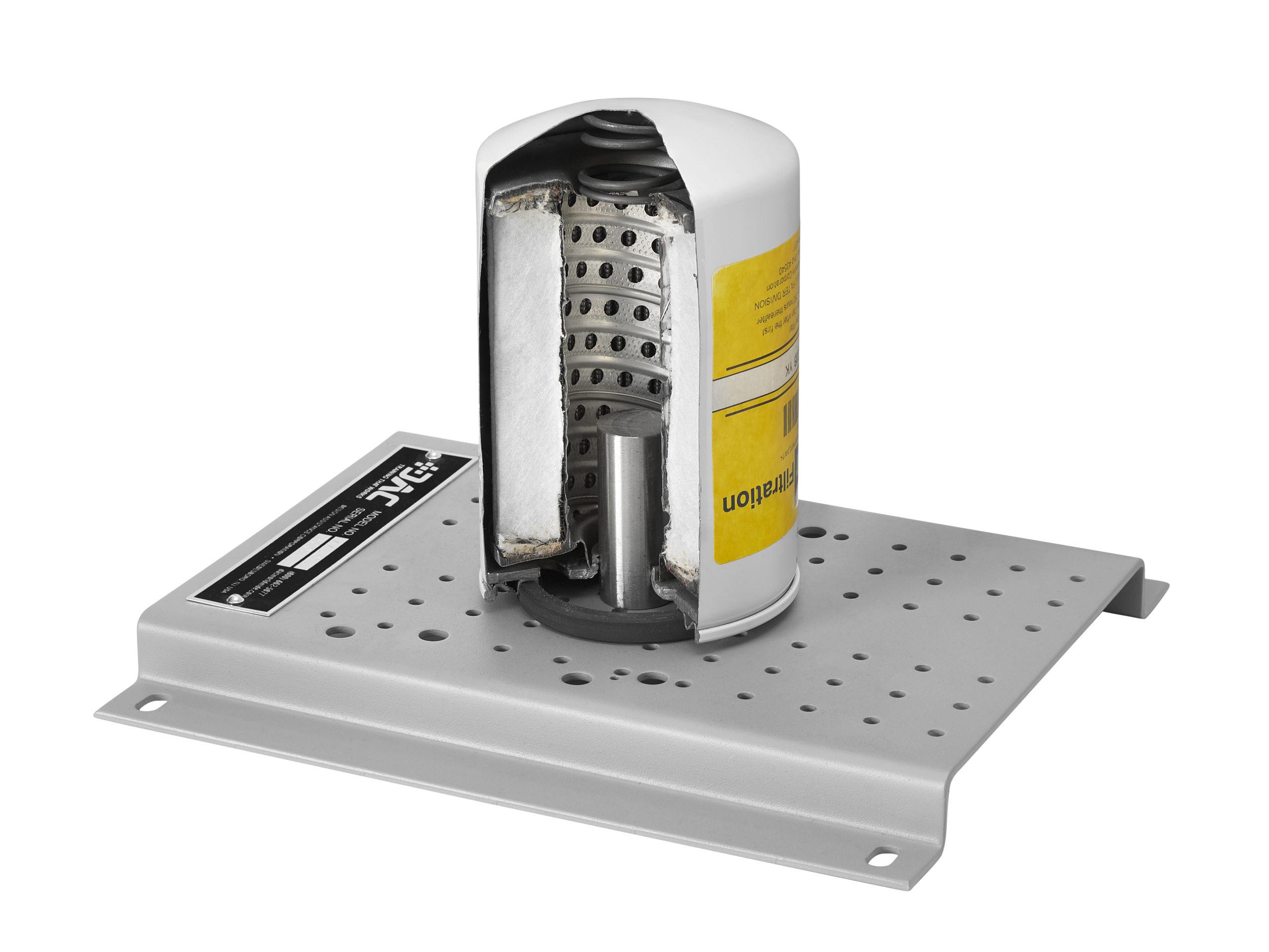 hydraulic filter cutaway