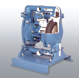Air Operated Diaphragm Pump Cutaway | 278-180