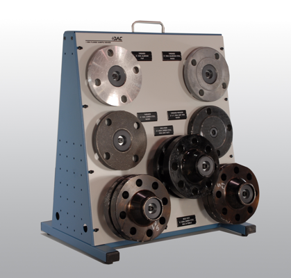 DAC Worldwide products Flange Sample Board provides quick and easy reference to many types of commonly used flanges
