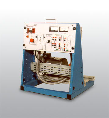 DAC Worldwide's Compound, Cumulatively Wound, DC Motor Training System | 416-000
