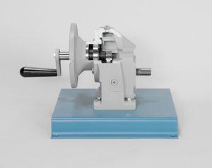 DAC Worldwide Offset In-Line Helical Gear Reducer Cutaway   205-250   Side