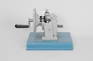 DAC Worldwide Offset In-Line Helical Gear Reducer Cutaway | 205-250 | Side