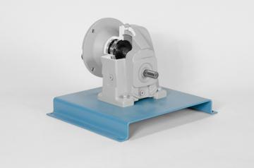 DAC Worldwide Offset In-Line Helical Gear Reducer Cutaway | 205-250 | Back