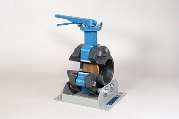 """DAC Worldwide Butterfly Valve Cutaway, 4"""" - 6"""" 
