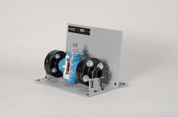 DAC Worldwide Downsized 3-Way Plug Valve Cutaway | 261D | Angle 1