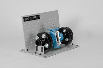 DAC Worldwide Downsized 3-Way Plug Valve Cutaway | 261D | Angle 2