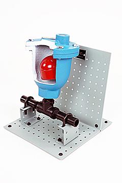 DAC Worldwide Ball Float Air Vent Valve Cutaway   273-420   Angle 1
