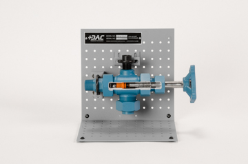 DAC Worldwide Level Gage Cock Valve Cutaway | 273-450 | Front