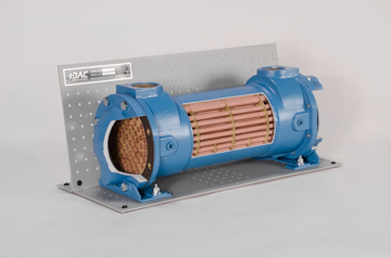 DAC Worldwide Shell and Tube Heat Exchanger Cutaway | 273-610 | Angle 1