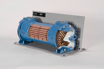 DAC Worldwide Shell and Tube Heat Exchanger Cutaway | 273-610 | Angle 2
