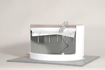 Floating Head Bulk Storage Tank Model | 297-101
