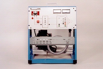 DAC Worldwide Split Phase Capacitor Start AC Motor Training System   410-000   Front View