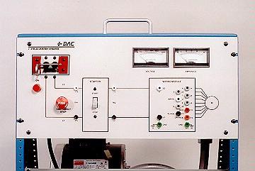 DAC Worldwide Split Phase Capacitor Start AC Motor Training System | 410-000 | Closeup View