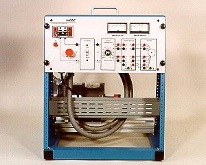 DAC Worldwide Compound, Cumulatively Wound, DC Motor Training System | 416-000 | Front View