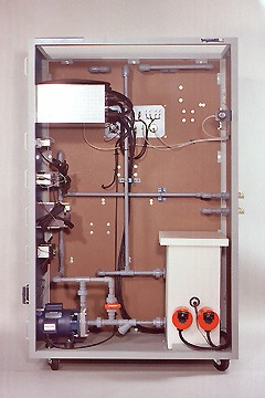 DAC Worldwide Temperature Process Control Training System   602-PAC   Rear View