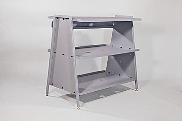 DAC Worldwide Machine Stand/Storage Bench | 901 | Angle View