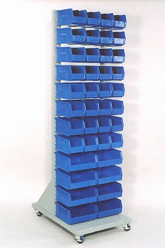 DAC Worldwide Mobile Parts Storage Rack | 911