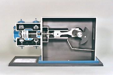 reciprocating compressor cutaway