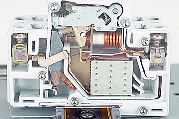 Industrial Circuit Breaker Cutaway | Real-World Electrical Training Aid