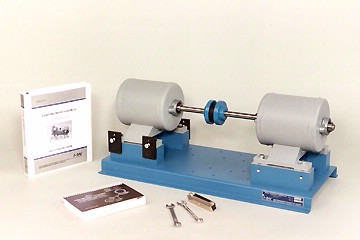 downsized coupling shaft alignment trainer