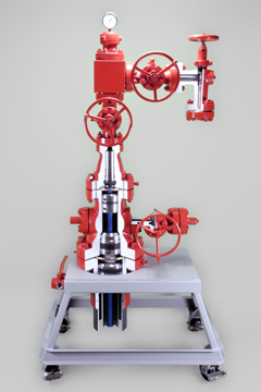 extended wellhead assembly cutaway training
