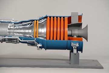 gas turbine model training