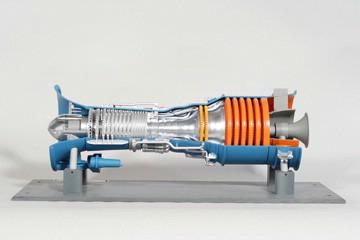 gas turbine model training