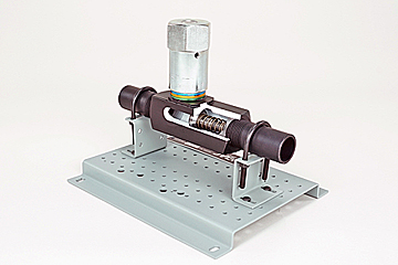 hydraulic manual flow control valve training