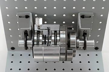 in-lin friction-type pneumatic clutch cutaway