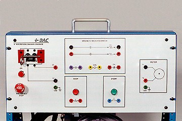 1-Phase Motor Control Training System with Magnetic Starter   421-000