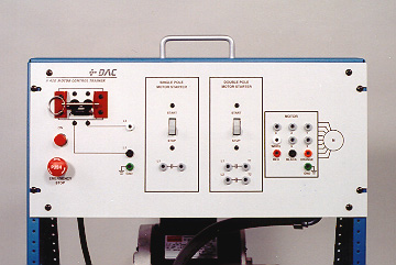DAC Worldwide 1-Phase Motor Control Training System with Manual Starter | 420-000 | 3