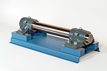 journal and fluid-film bearing training system