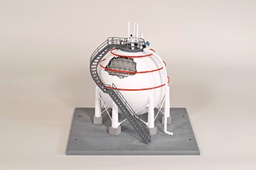 LNG Spherical Storage Tank Training Model | Products