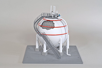 LNG Spherical Storage Tank Training Model