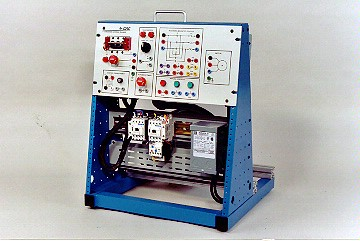 3-Phase Motor Control Training System with Magnetic Starter, Love Voltage Start | 424-000