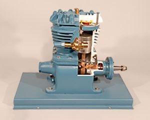 open drive refrigeration compressor cutaway training