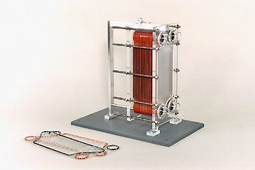 plate-type heat exchanger model | Power Generation