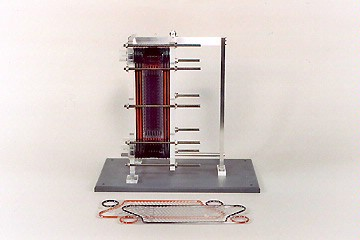 plate-type heat exchanger model