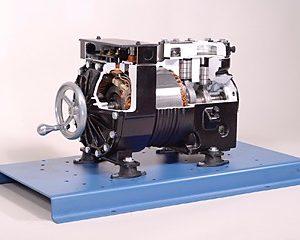 semi-hermetic compressor cutaway training