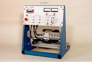 DAC Worldwide Three-Phase, Squirrel Cage Rotor, AC Motor Training System | 412-000 | 3