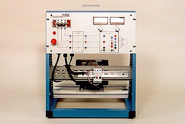 DAC Worldwide Three-Phase, Squirrel Cage Rotor, AC Motor Training System | 412-000 | 1