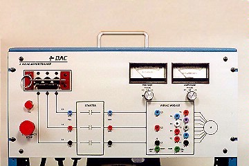 DAC Worldwide Three-Phase, Squirrel Cage Rotor, AC Motor Training System | 412-000 | 2