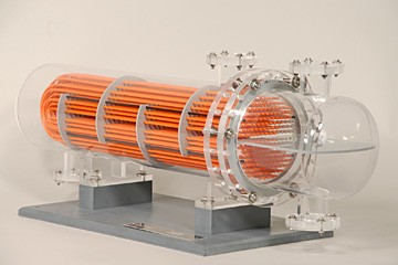 u-tube heat exchanger model