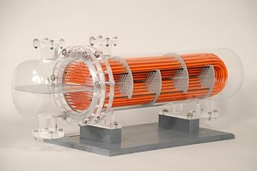 u-tube heat exchanger model